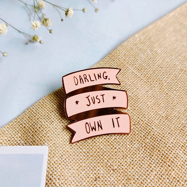Darling - Lapel Pin