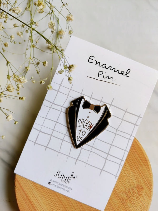 Groom To Be - Lapel Pin