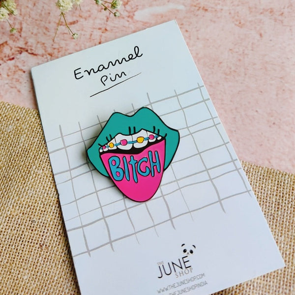 B***h Mood - Lapel Pin