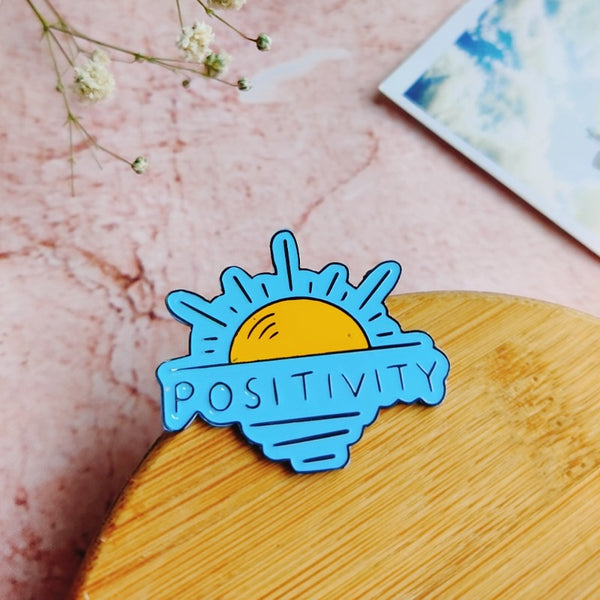 Positivity - Lapel Pin