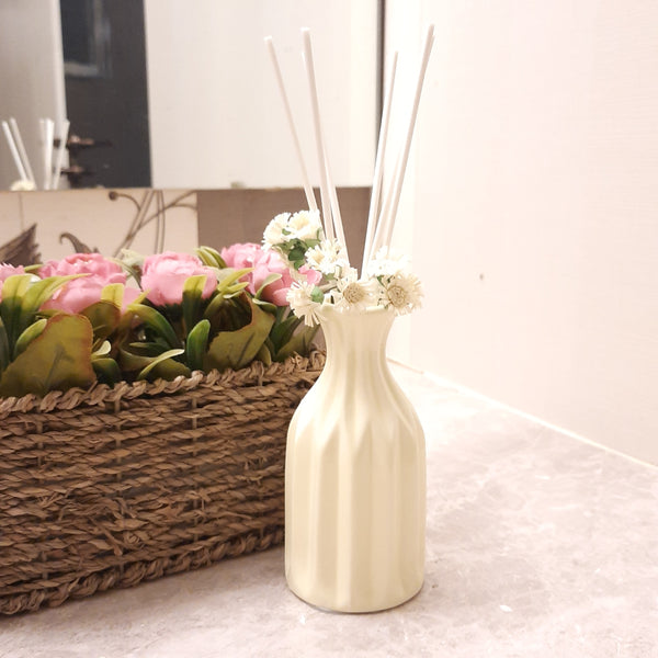 Vase Shape Reed Diffuser ( Lemon )