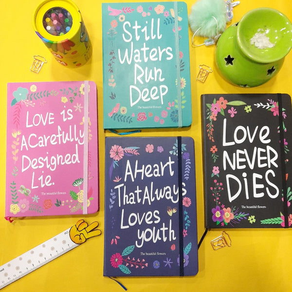 Cute Quote Notebook (HardCover)