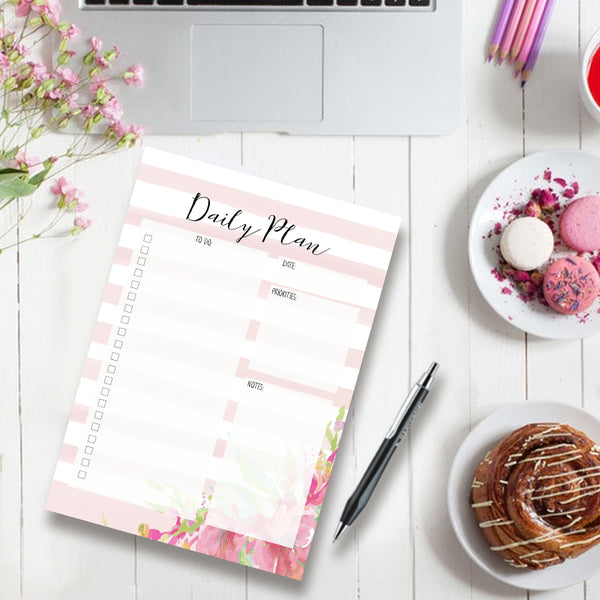 Pretty Pink - Daily Planner