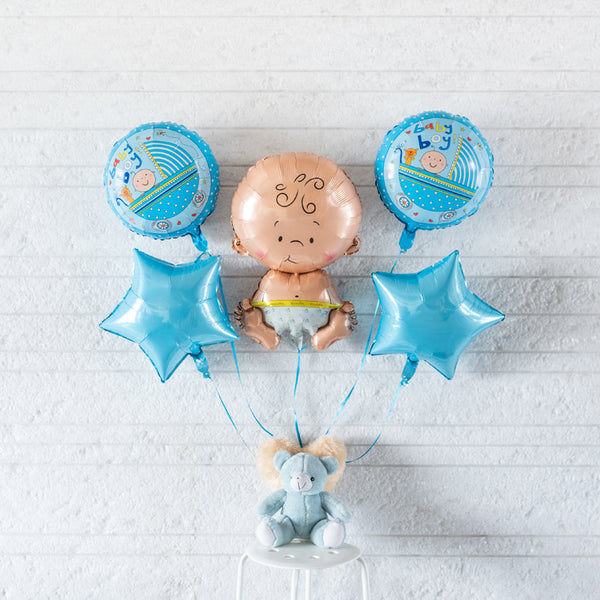 Cute Baby Boy Balloon (Set)
