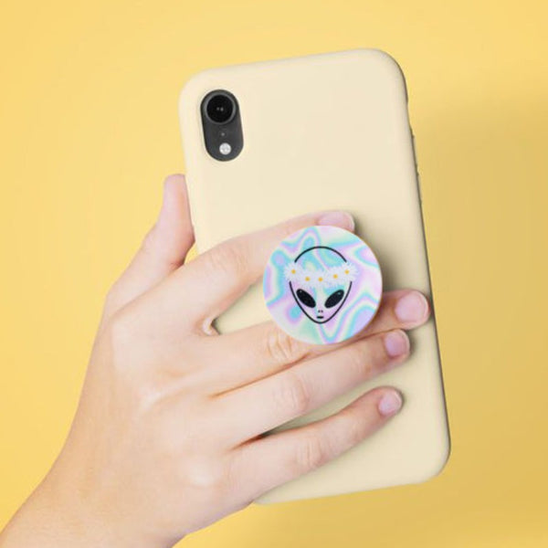 Alien Pop Socket