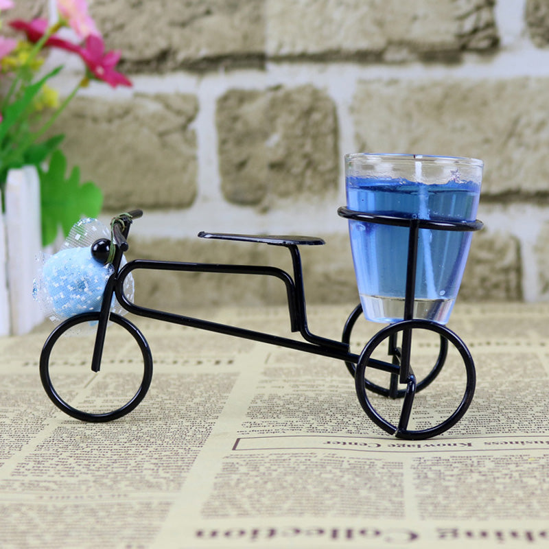 Bicycle Jelly Candle Stand