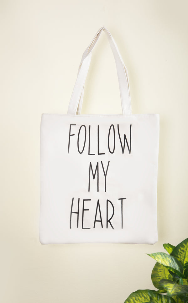 Follow My Heart Shoulder Bag