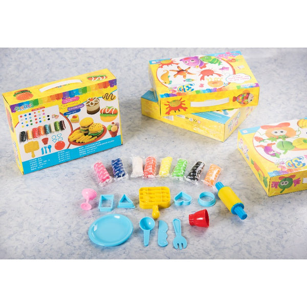 Fast Food Theme DIY Clay Set