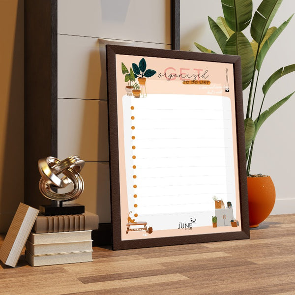 Get Organized - Re-writable Planner