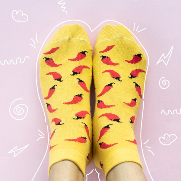 Red Chillies - Socks