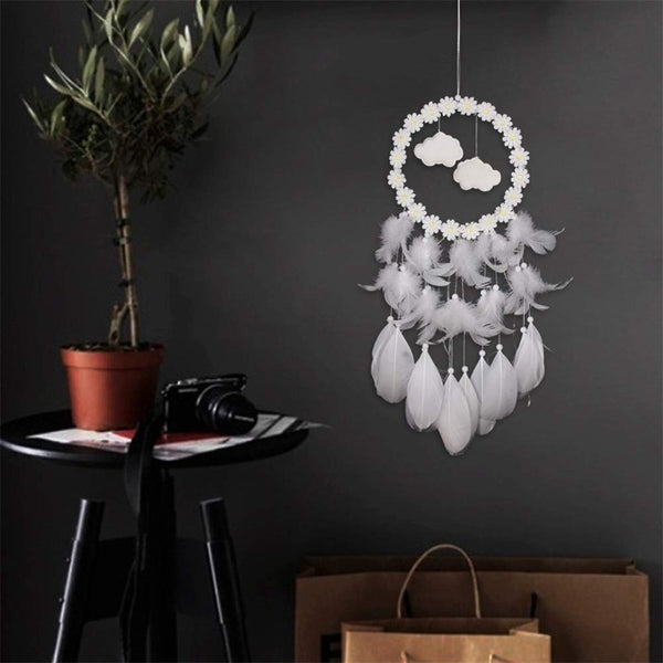 Cloud Dream Catcher (With Lights)
