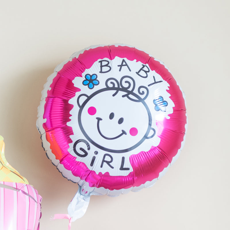 Its a Girl Bottle Balloon (Set)
