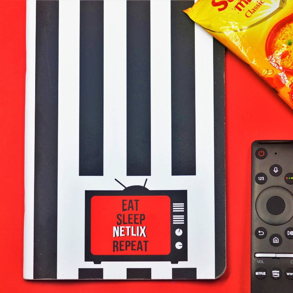 Eat Sleep Netflix Repeat Diary