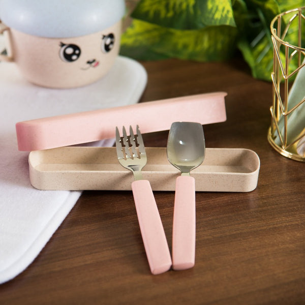 Kids Spoon & Fork Set - The June Shop