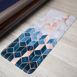Abstract Anti - Slip Bed Runner