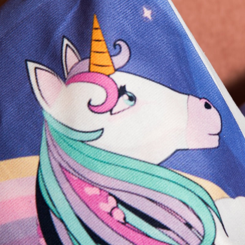 Dream Unicorn Print Cushion Cover (Set of 2)