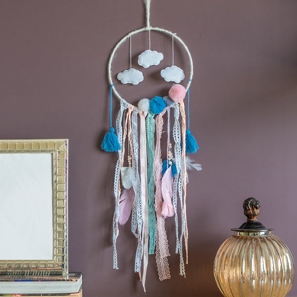 Multi - Color Cloud Dream Catcher (With Lights)