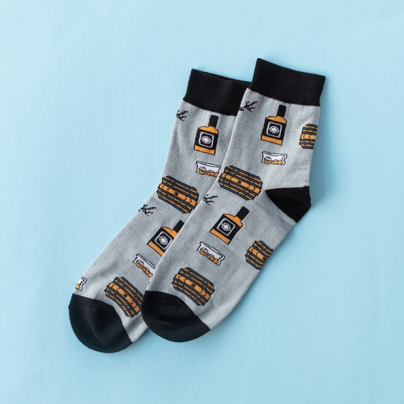 Whiskey & Barrels - Socks