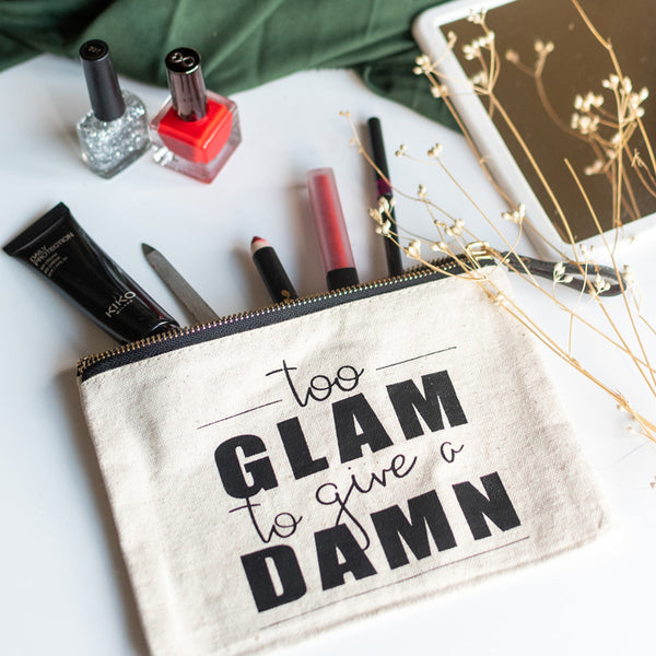 Glam Damn - Canvas Pouch
