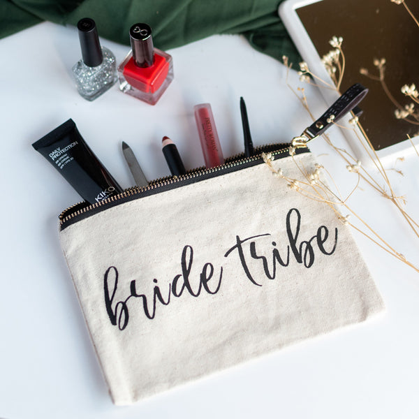 Bride Tribe - Canvas Pouch