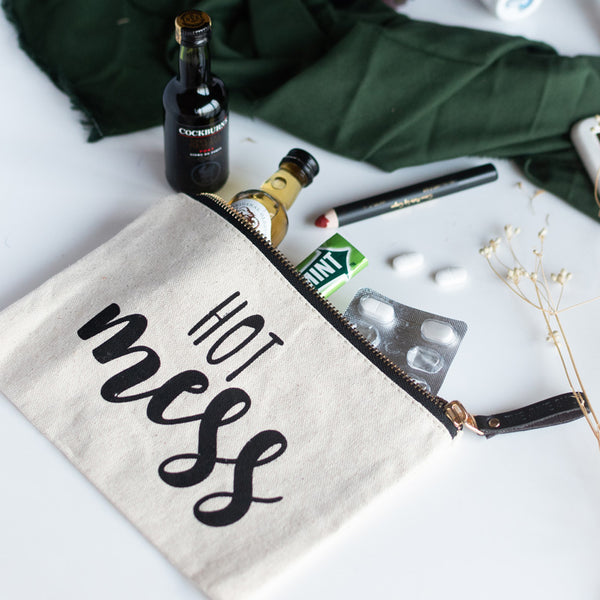 Hot Mess - Canvas Pouch