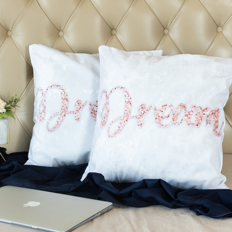 Dream Print Cushion Covers (Set of 2)