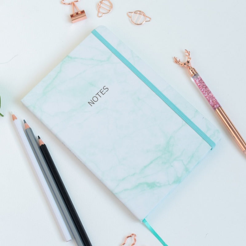 Marble Print Notebooks (HardCover)