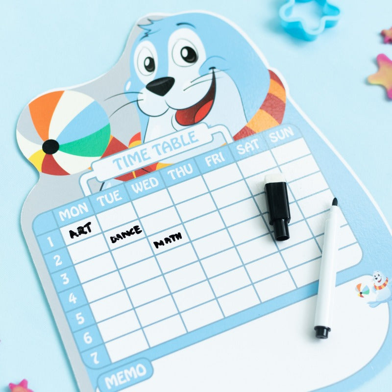 Seal Planner Writing Pad with Marker