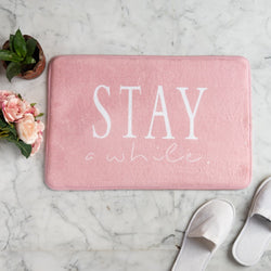 Stay a while Anti - Slip Doormat