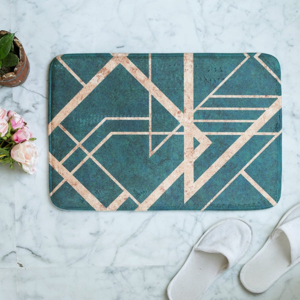 Emerald Anti - Slip Doormat