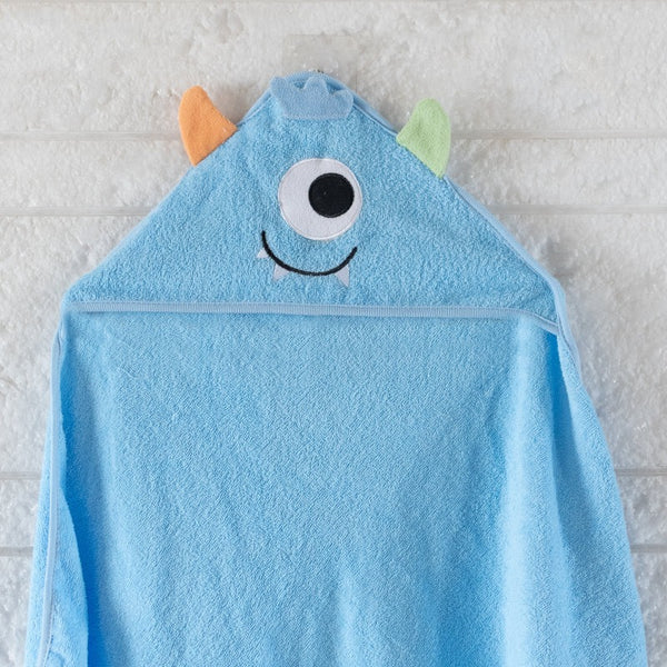 Baby Hooded Towel - Monster