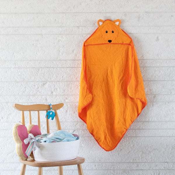 Baby Hooded Towel - Fox
