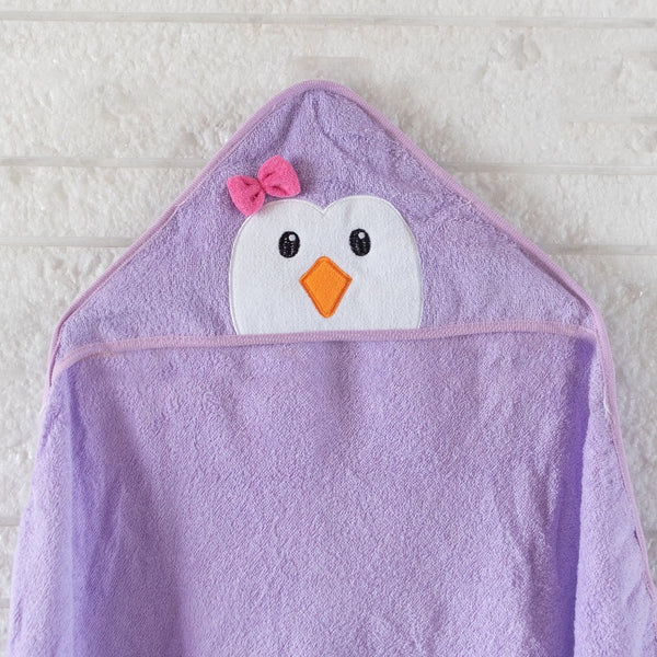 Baby Hooded Towel - Cute Penguin