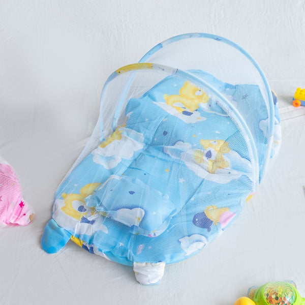 Portable Cloud Printed Baby Beds