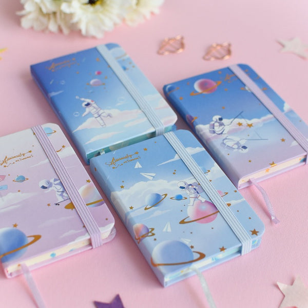 Mini Magical Space Notepad (Hard Cover)