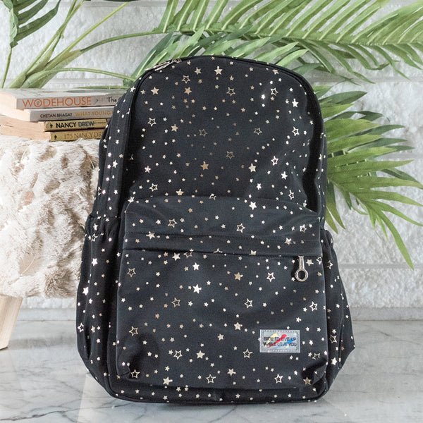 Star Print Laptop Backpack