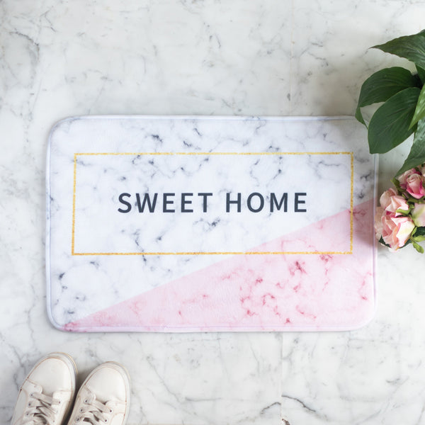 Sweet Home Anti - Slip Doormat