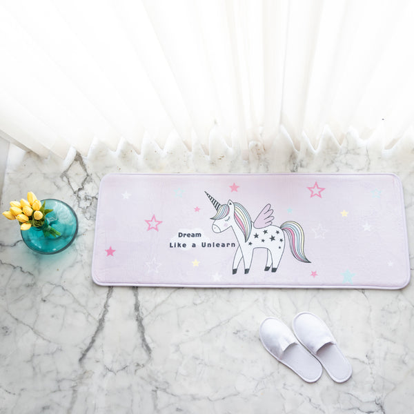 Dream Unicorn Anti - Slip Bed Runner