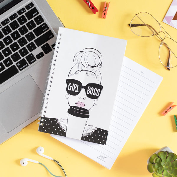 Girl Boss - Wiro Notebook