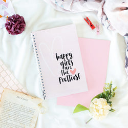 Happy Girls are the Prettiest - Wiro Notebook