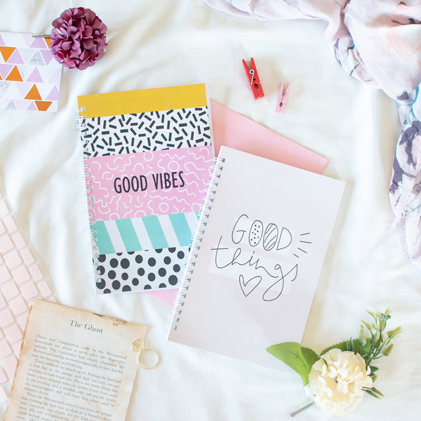 Good Mood (Set of 2) - Wiro Notebook