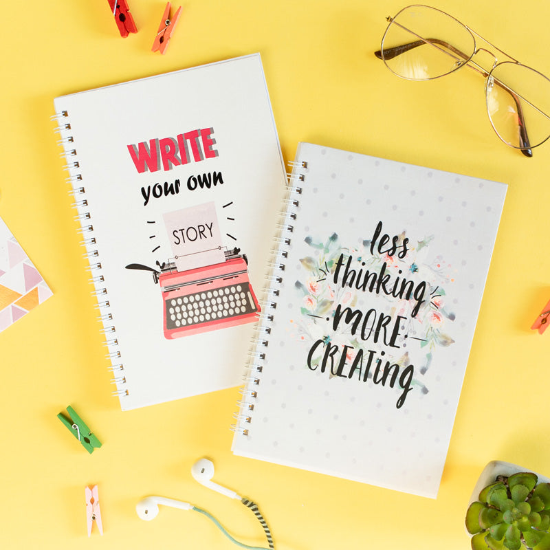The Creative You (Set of 2) - Wiro Notebook