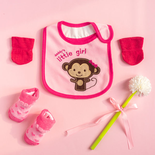 Daddy's Little Girl - Bib Gift Set