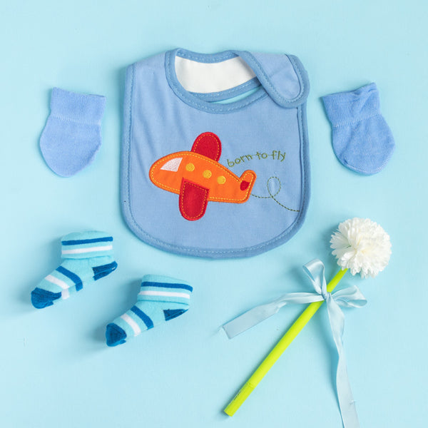 Born to Fly - Bib Gift Set