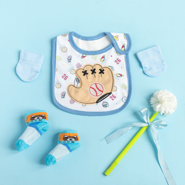 Baseball - Bib Gift Set