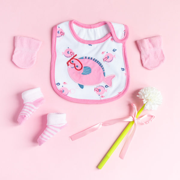 Baby Fish - Bib Gift Set
