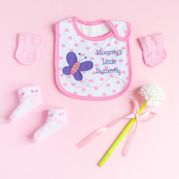 Mommy's Little Butterfly - Bib Gift Set