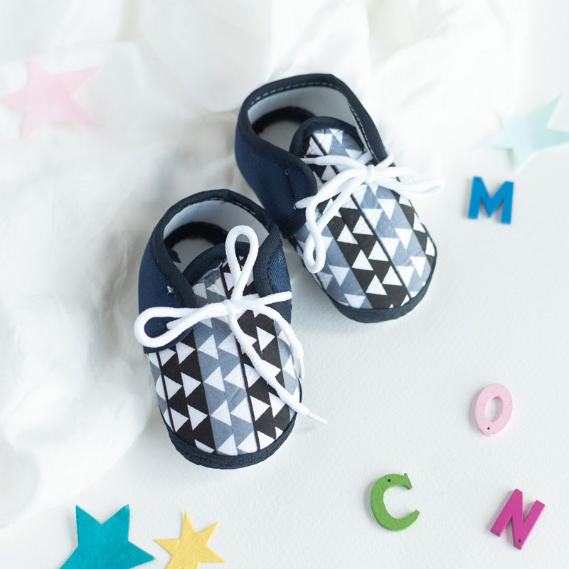 Abstract Print Baby Anti-Slip Shoes