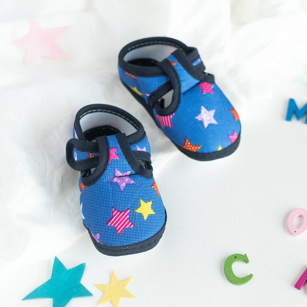Colorful Stars Print Baby Anti-Slip Shoes