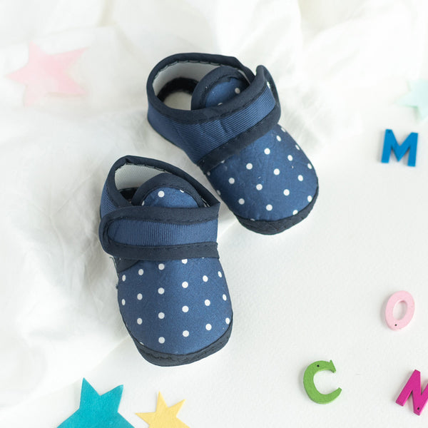 Polka Dot Print Baby Anti-Slip Shoes